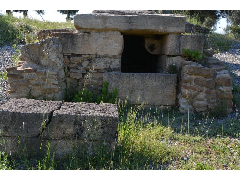 Tomba Brettia del sec. IV a.C.