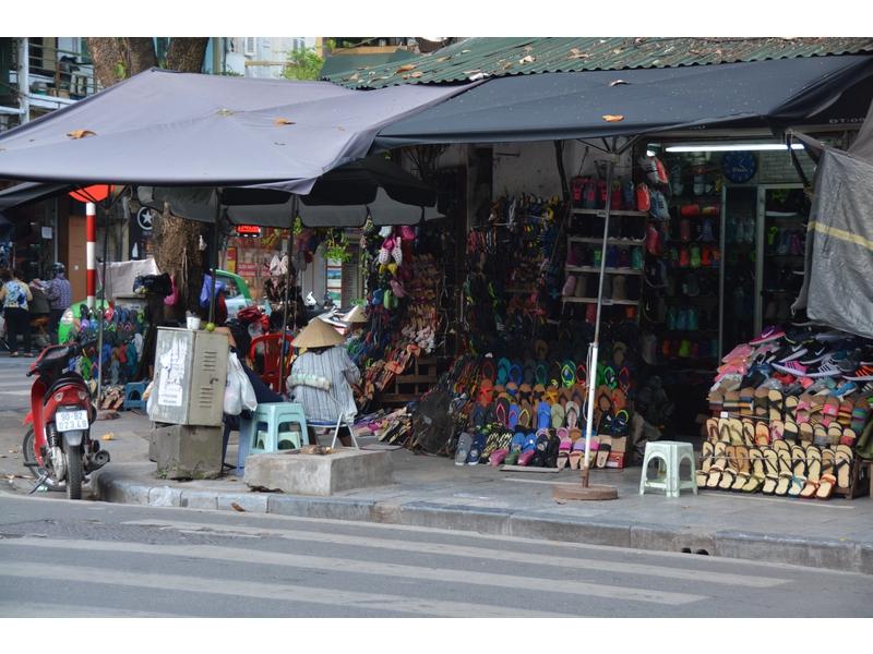 Hanoi: quartiere vecchio
