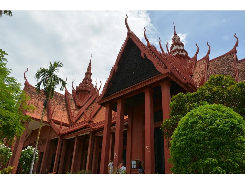 Phnom Penh: museo nazionale