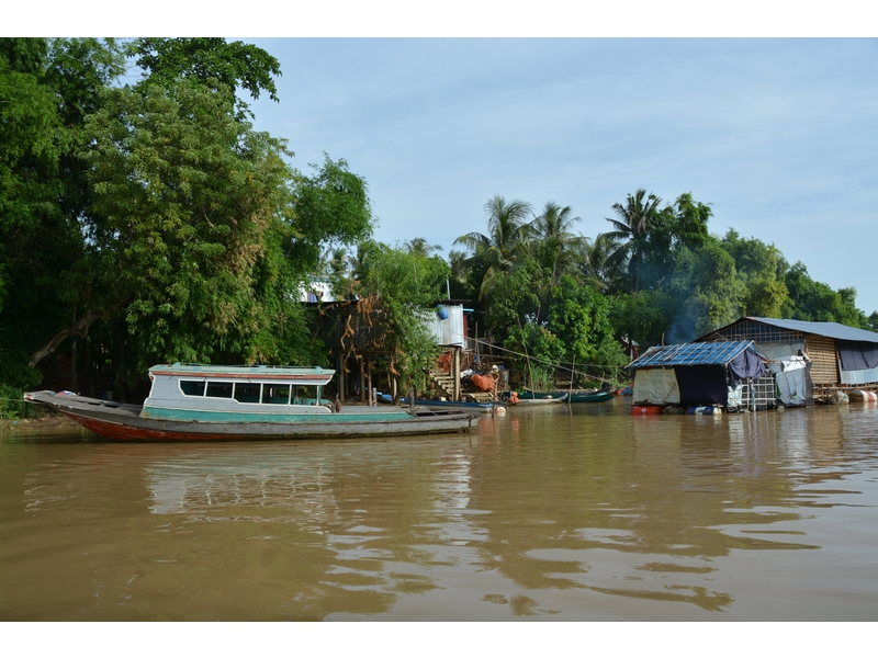 Da Battambang a Siem Reap