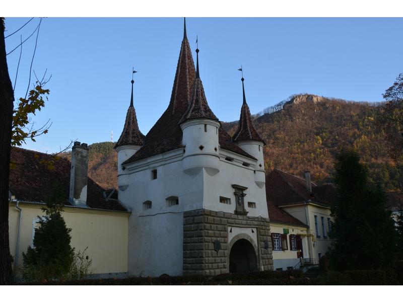 Brasov: porta Santa Caterina