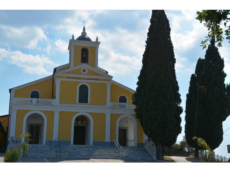Santuario dei SS Cosma e Damiano (già Monastero Basiliano risalente al sec. XI)