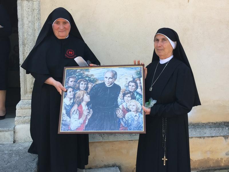 """Beato Francesco Maria Greco, fondatore delle Suore """"Piccole Operaie dei Sacri Cuori""""."""