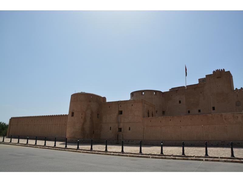 Jabrin: castello fatto costruire da Bil'Arab, un Imam della dinastia Ya'Aruba